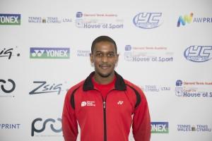 Director of Tennis Sena Tengey